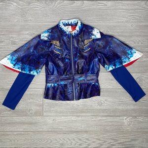 Disney dependents jacket with belt purple